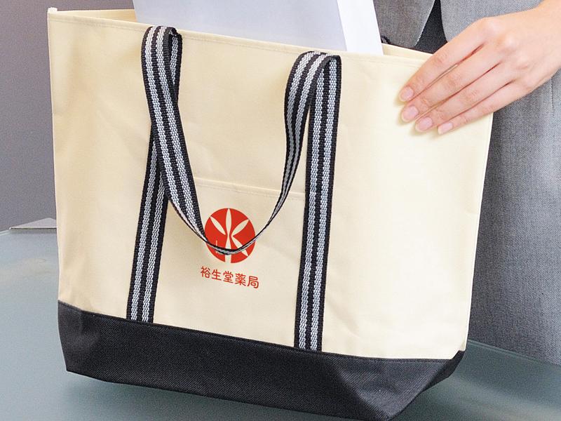 株式会社裕生堂薬局様「ロゴ入りトートバッグ」